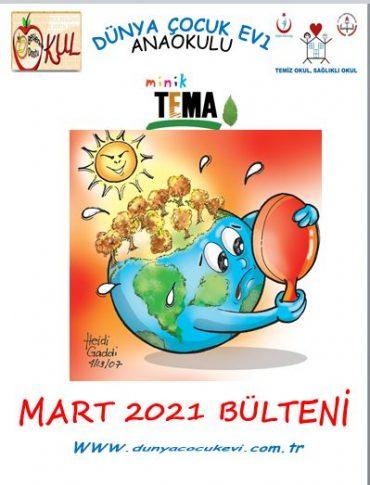 2021 MART AYI BÜLTENİMİZ YAYINDA !…